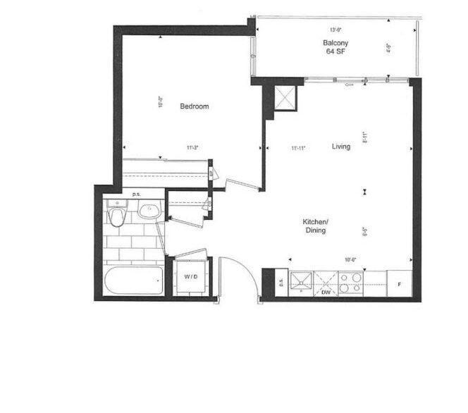 177 Front St E -Floor Plan